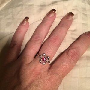 Red Clover Ring 9